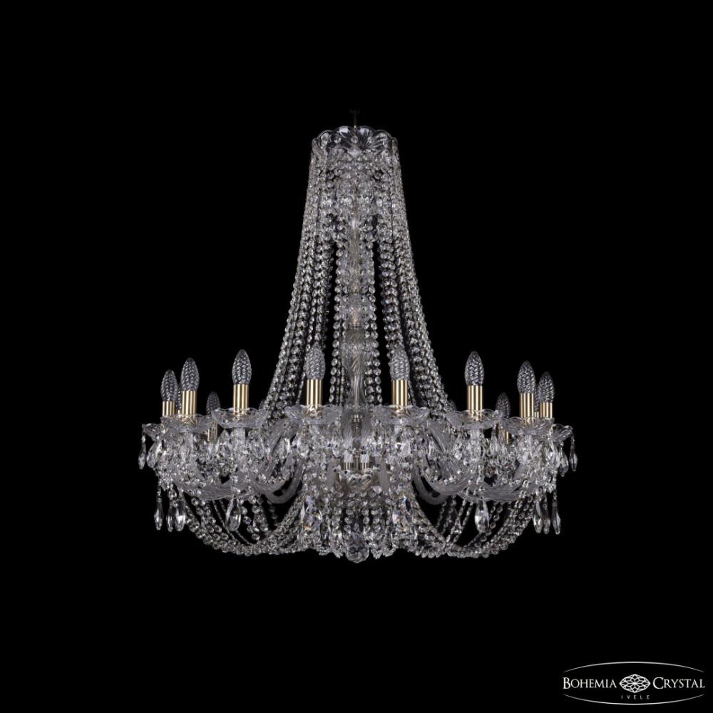 Люстра хрустальная 1406/16/300/h-89 Pa Bohemia Ivele Crystal
